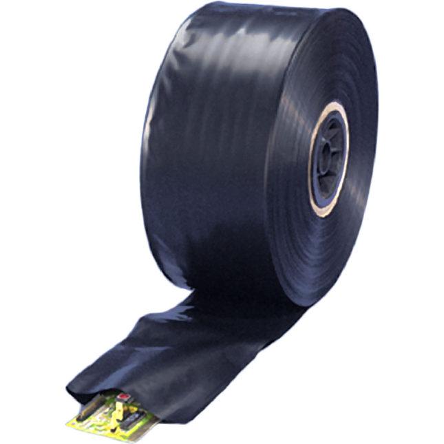 black bags on rolls