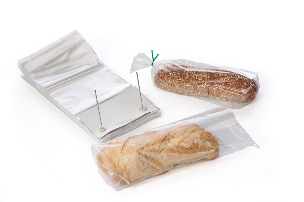 Clear Wicketed Plastic-Poly Bread Bags