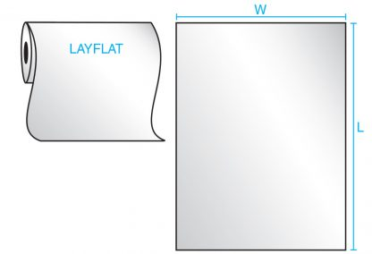 Layflat Bag Drawing