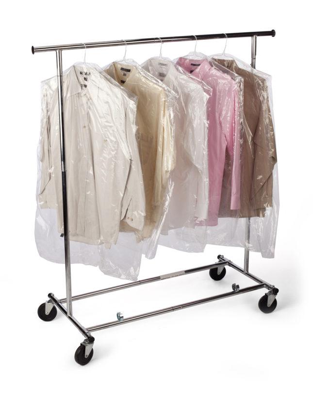 Garment Bags on Rolls
