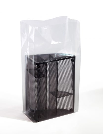 Clear Gusseted Bags Case-Packed