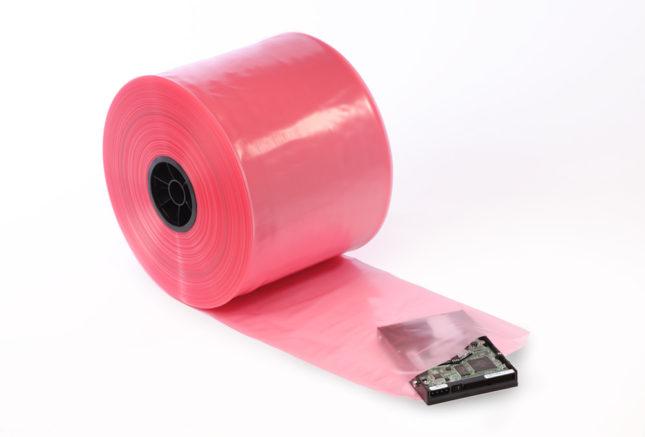 Pink AntiStatic Tubing