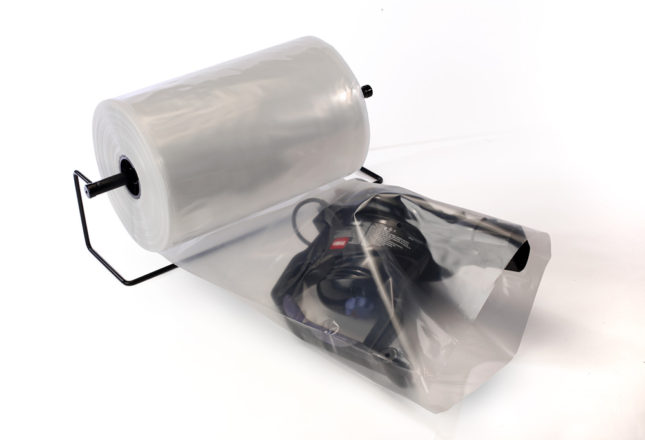 Clear Layflat Bags on a Roll