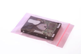 Reclosable Pink Antistatic Bags 4 mil