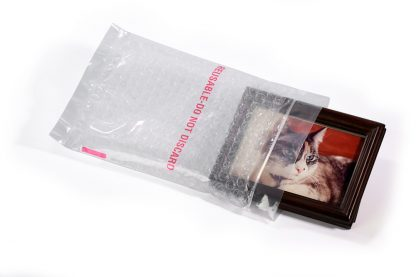 Clear Zip Top Bubble Poly Bags