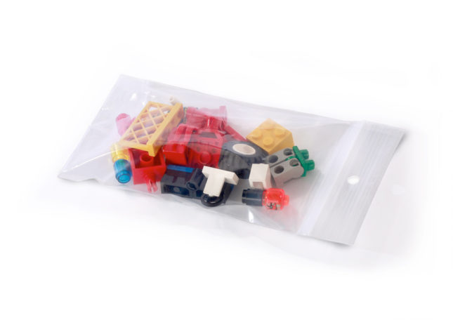 Reclosable Bags With Hang Holes 2 Mil