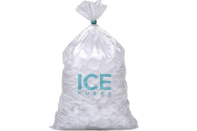 ice bags with custom logo