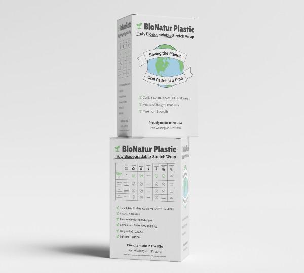 BioNatur biodegradable stretch film box